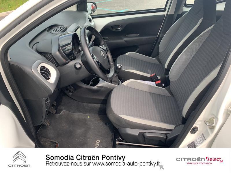 Photo 9 de l'offre de TOYOTA Aygo 1.0 VVT-i 72ch x-play 5p à 10790€ chez Somodia - Citroën Loudeac