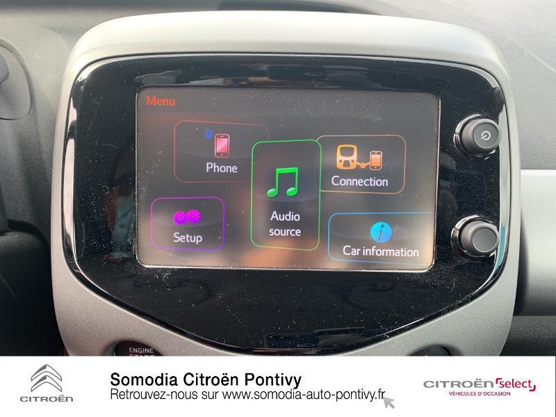 Photo 15 de l'offre de TOYOTA Aygo 1.0 VVT-i 72ch x-play 5p à 10790€ chez Somodia - Citroën Loudeac