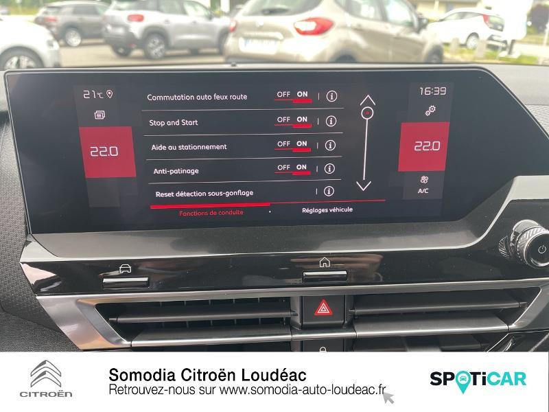 Photo 18 de l'offre de CITROEN C4 PureTech 130ch S&S Shine EAT8 à 29590€ chez Somodia - Citroën Loudeac