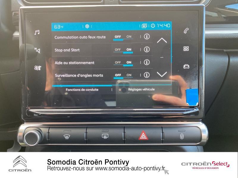 Photo 17 de l'offre de CITROEN C3 Bluehdi 100 Shine BVM à 20490€ chez Somodia - Citroën Pontivy