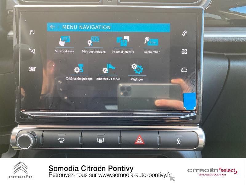 Photo 15 de l'offre de CITROEN C3 Bluehdi 100 Shine BVM à 20490€ chez Somodia - Citroën Pontivy