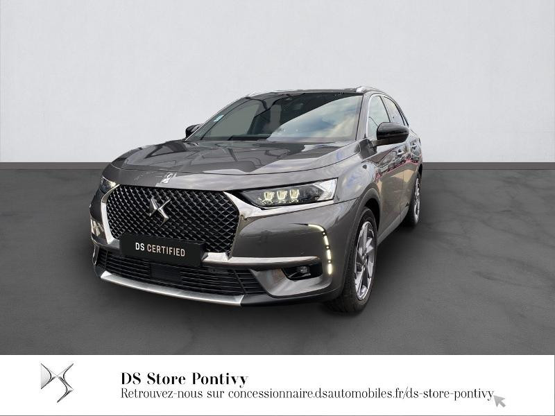 Ds DS 7 Crossback PureTech 225ch Grand Chic Automatique 13cv Essence GRIS PLATINIUM Occasion à vendre