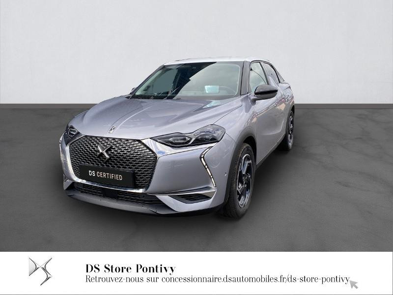 Ds DS 3 Crossback PureTech 155ch Grand Chic Automatique 114g Essence GRIS ARTENSE Occasion à vendre