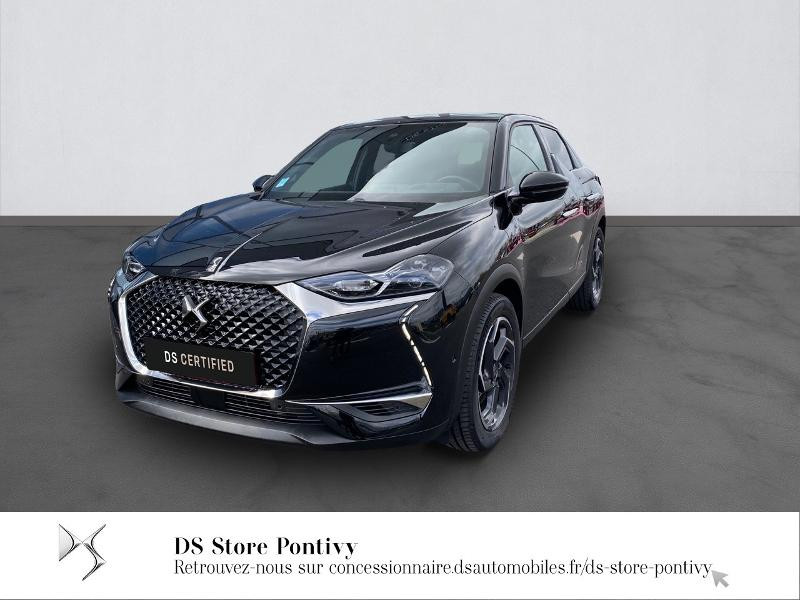 Ds DS 3 Crossback PureTech 130ch Grand Chic Automatique 7cv Essence NOIR PERLA NERA NACR Occasion à vendre