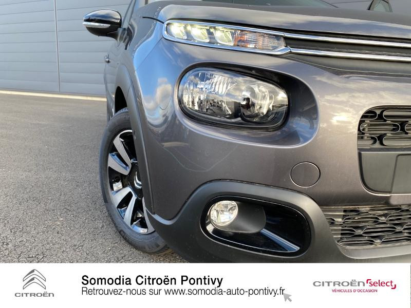 Photo 20 de l'offre de CITROEN C3 Bluehdi 100 Shine BVM à 20490€ chez Somodia - Citroën Pontivy