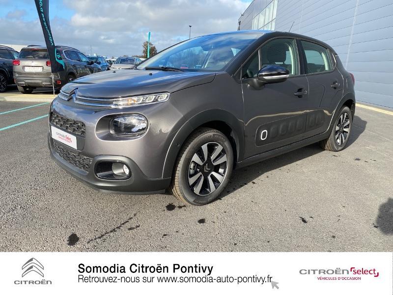 Photo 21 de l'offre de CITROEN C3 Bluehdi 100 Shine BVM à 20490€ chez Somodia - Citroën Pontivy