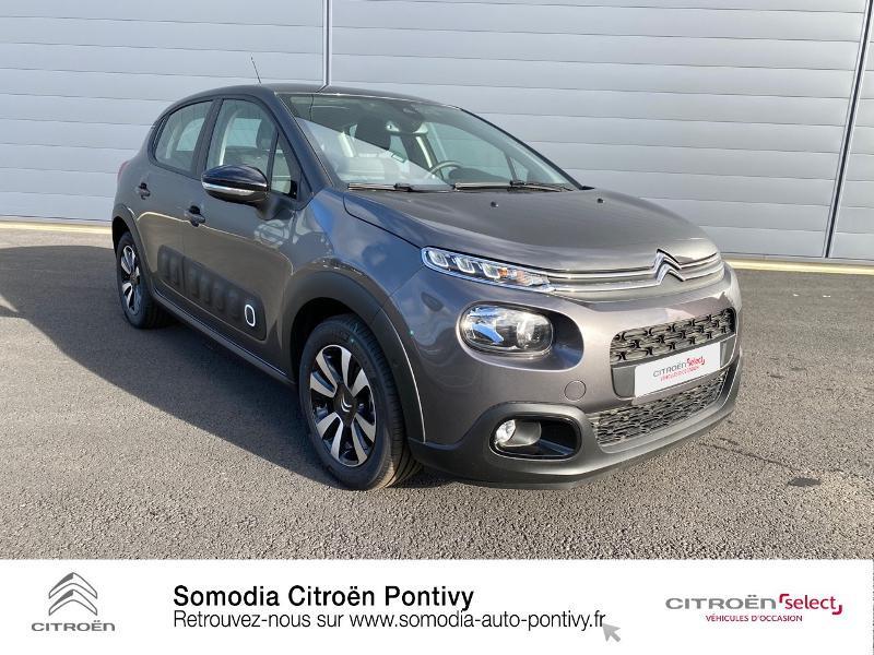 Photo 3 de l'offre de CITROEN C3 Bluehdi 100 Shine BVM à 20490€ chez Somodia - Citroën Pontivy