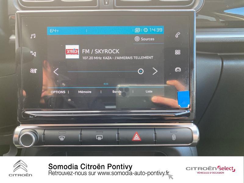 Photo 14 de l'offre de CITROEN C3 Bluehdi 100 Shine BVM à 20490€ chez Somodia - Citroën Pontivy