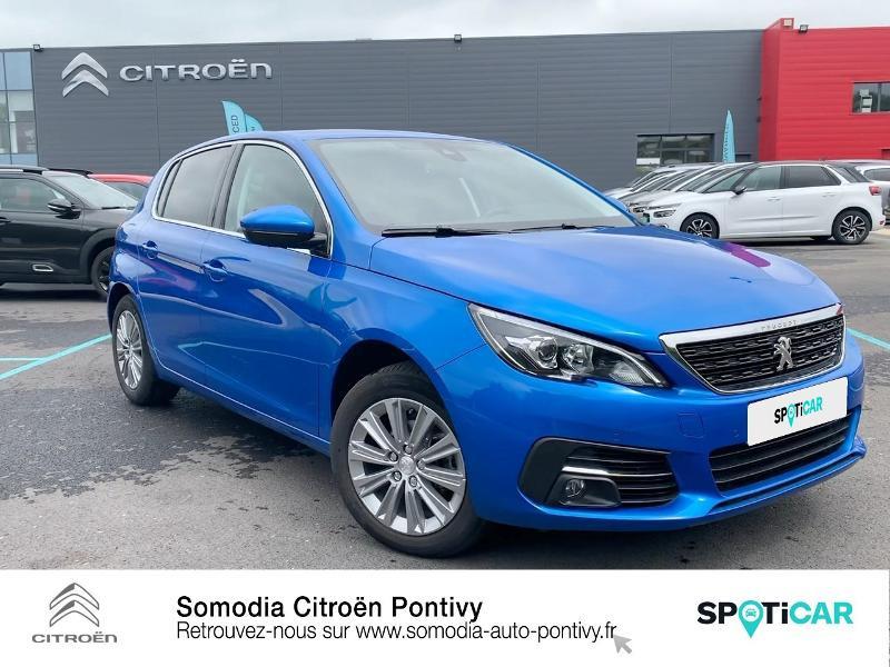 Photo 3 de l'offre de PEUGEOT 308 1.2 PureTech 110ch S&S Allure à 20990€ chez Somodia - Citroën Pontivy