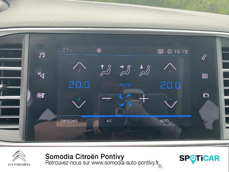 Photo 18 de l'offre de PEUGEOT 308 1.2 PureTech 110ch S&S Allure à 20990€ chez Somodia - Citroën Pontivy