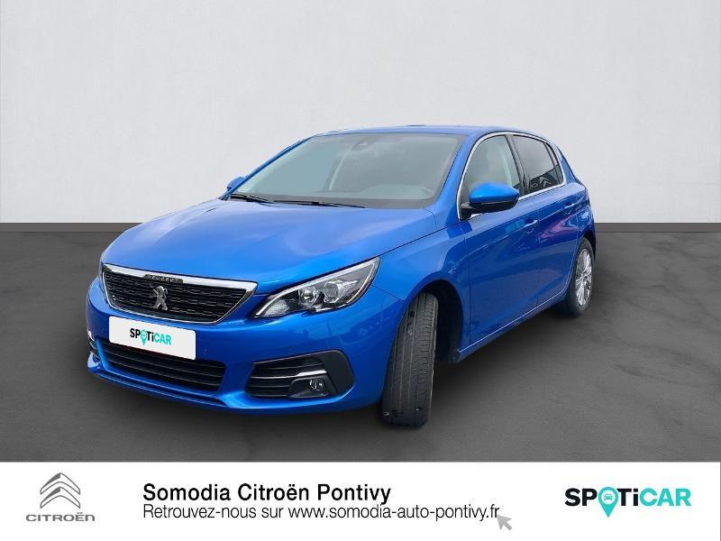 Photo 1 de l'offre de PEUGEOT 308 1.2 PureTech 110ch S&S Allure à 20990€ chez Somodia - Citroën Pontivy