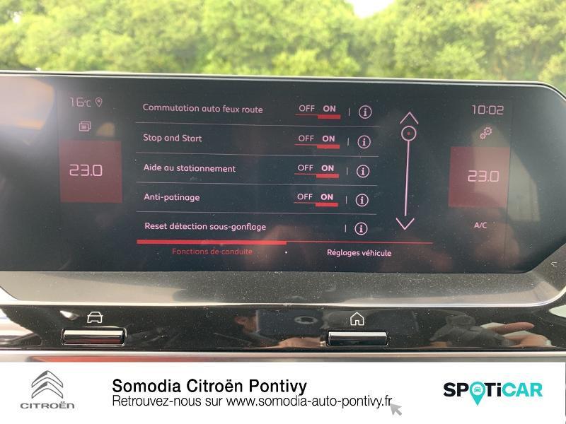 Photo 22 de l'offre de CITROEN C4 BlueHDi 130ch S&S Shine EAT8 à 28590€ chez Somodia - Citroën Pontivy