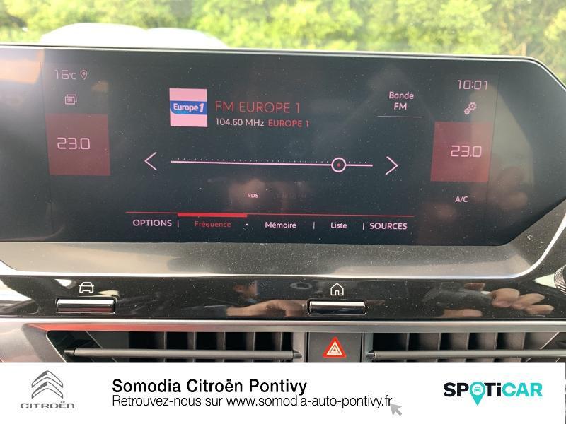 Photo 18 de l'offre de CITROEN C4 BlueHDi 130ch S&S Shine EAT8 à 28590€ chez Somodia - Citroën Pontivy