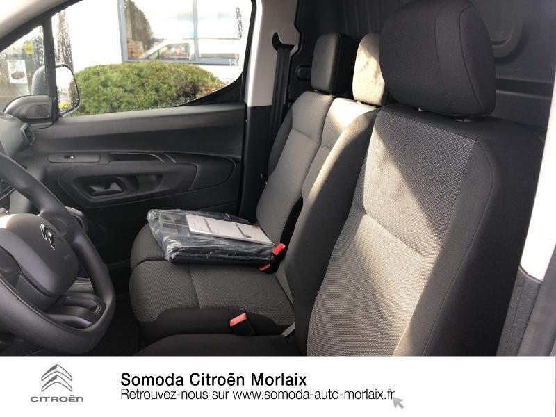Photo 9 de l'offre de CITROEN Berlingo Van M 1000kg BlueHDi 100 S&S Worker à 19080€ chez Somoda - Citroën Morlaix