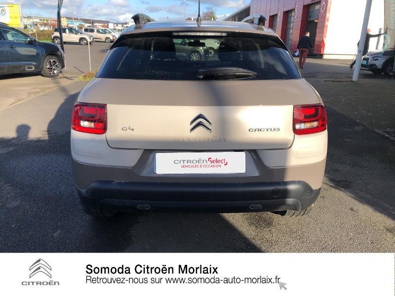 Photo 5 de l'offre de CITROEN C4 Cactus PureTech 110 Shine S&S EAT6 à 13990€ chez Somoda - Citroën Morlaix