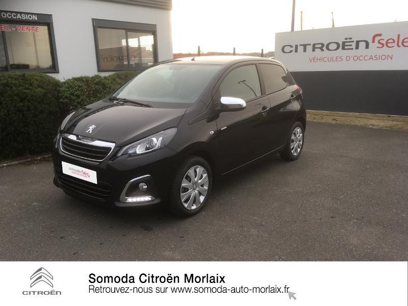 Photo 1 de l'offre de PEUGEOT 108 VTi 72 Style S&S 85g 5p à 10990€ chez Somoda - Citroën Morlaix