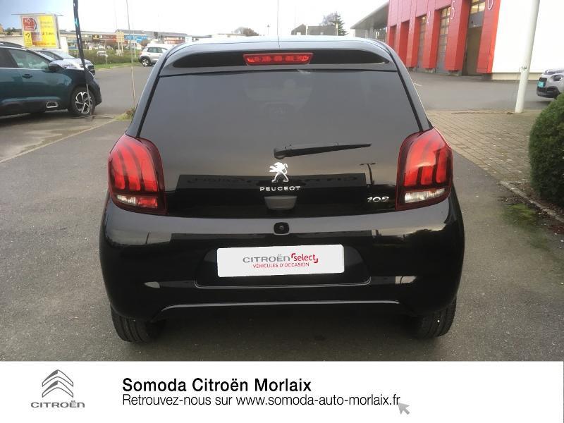 Photo 5 de l'offre de PEUGEOT 108 VTi 72 Style S&S 85g 5p à 10990€ chez Somoda - Citroën Morlaix