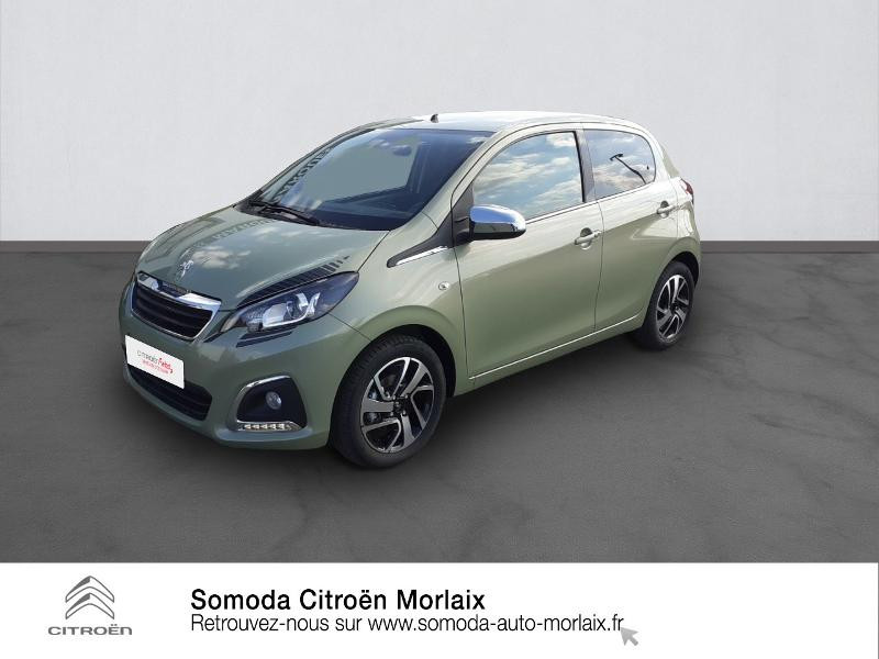 Peugeot 108 VTi 72 Collection S&S 4cv 5p Essence SMOOTH GREEN Occasion à vendre