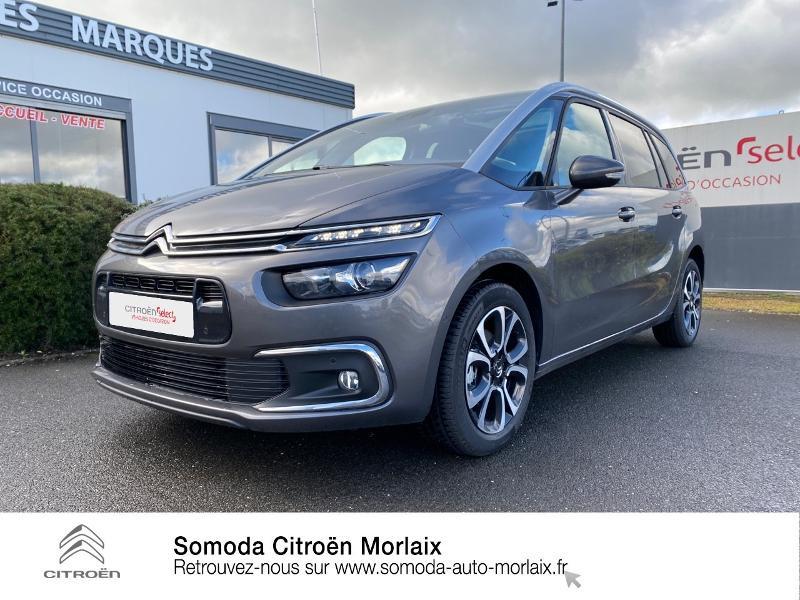 Photo 21 de l'offre de CITROEN Grand C4 SpaceTourer PureTech 130ch S&S Shine Pack EAT8 7cv à 30900€ chez Somoda - Citroën Morlaix