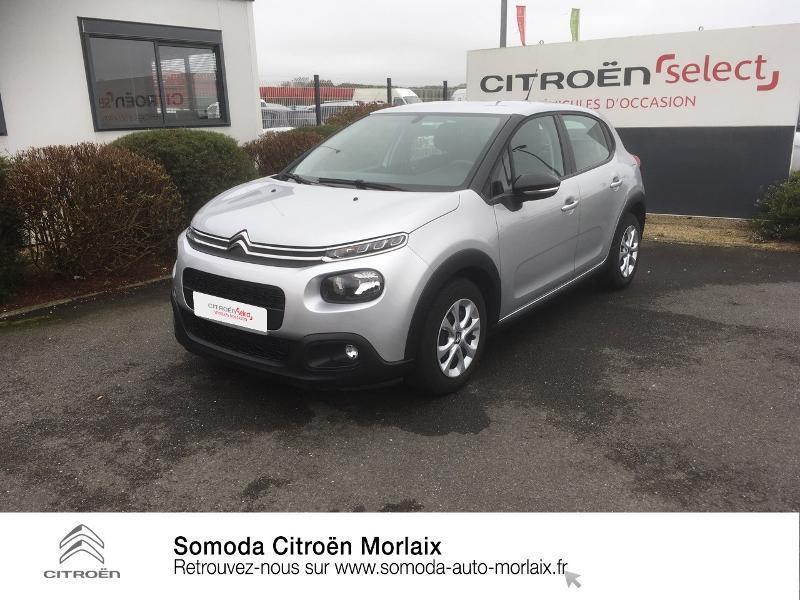 Photo 1 de l'offre de CITROEN C3 BlueHDi 75ch Feel S&S à 12990€ chez Somoda - Citroën Morlaix