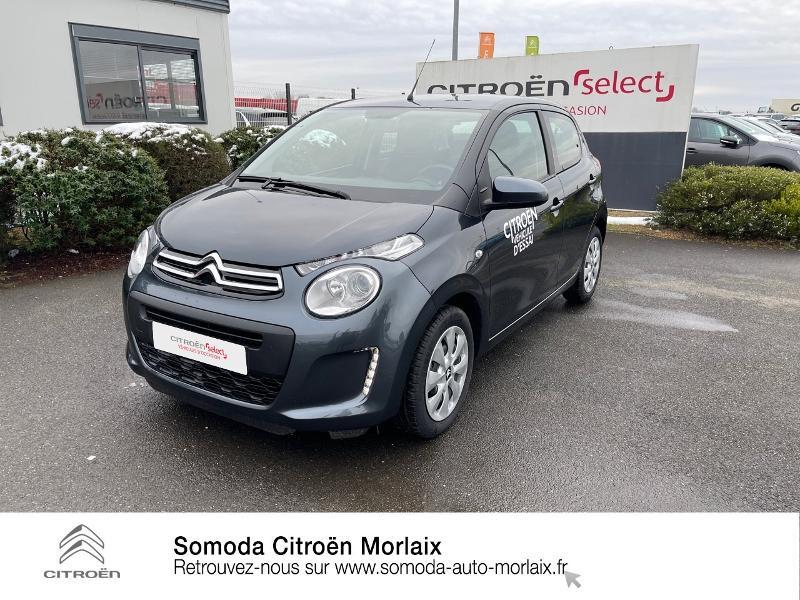 Photo 21 de l'offre de CITROEN C1 VTi 72 S&S Feel 5p E6.d-TEMP à 13400€ chez Somoda - Citroën Morlaix