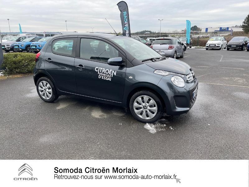 Photo 4 de l'offre de CITROEN C1 VTi 72 S&S Feel 5p E6.d-TEMP à 13400€ chez Somoda - Citroën Morlaix
