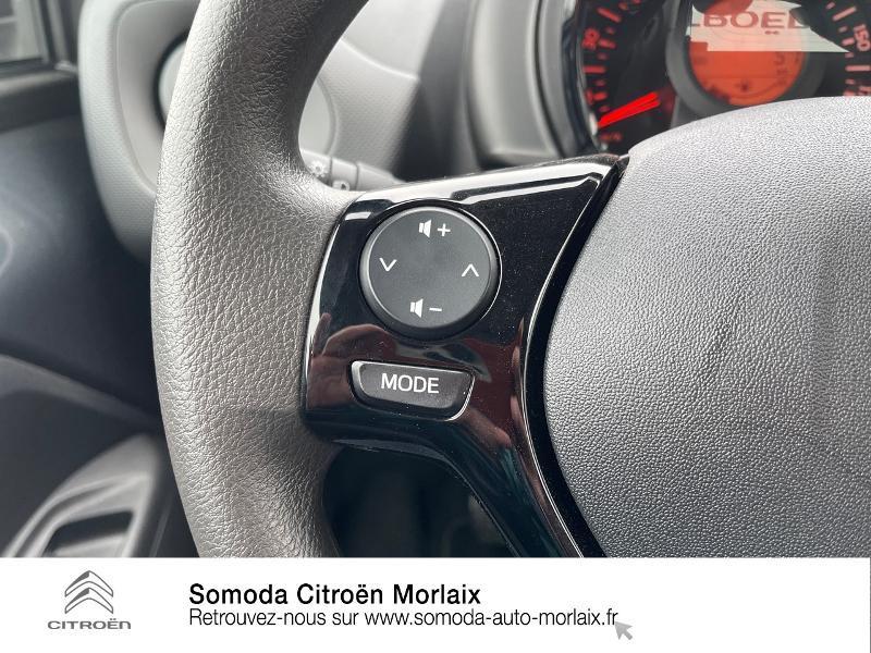 Photo 19 de l'offre de CITROEN C1 VTi 72 S&S Feel 5p E6.d-TEMP à 13400€ chez Somoda - Citroën Morlaix