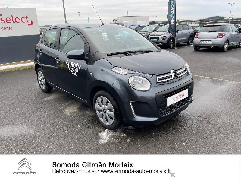 Photo 3 de l'offre de CITROEN C1 VTi 72 S&S Feel 5p E6.d-TEMP à 13400€ chez Somoda - Citroën Morlaix