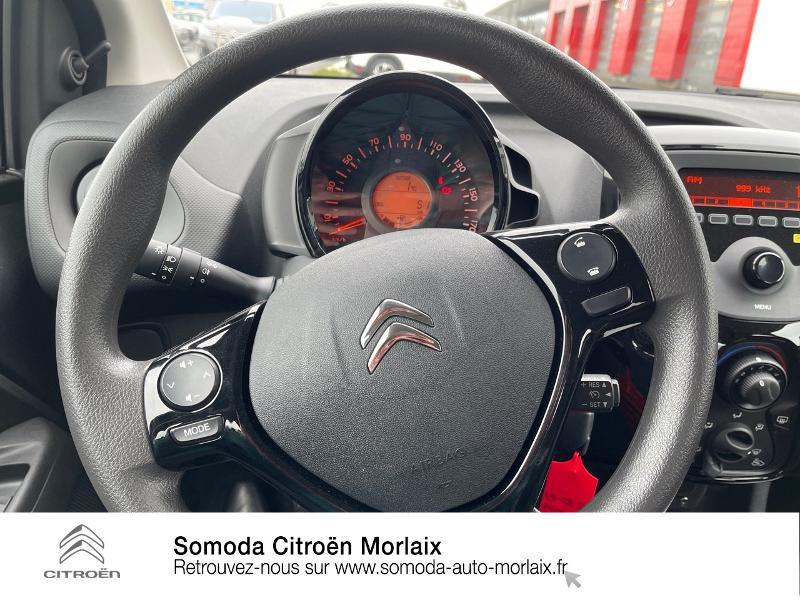 Photo 15 de l'offre de CITROEN C1 VTi 72 S&S Feel 5p E6.d-TEMP à 13400€ chez Somoda - Citroën Morlaix