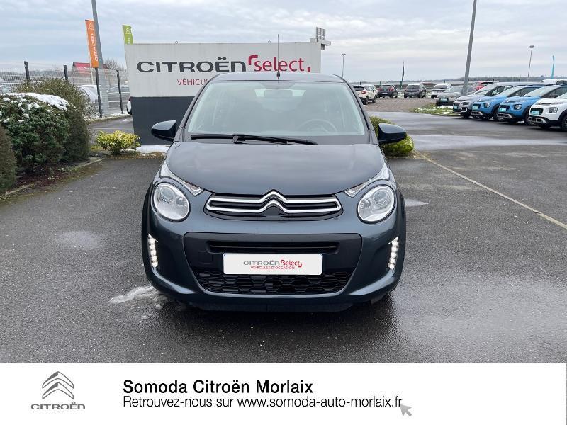 Photo 2 de l'offre de CITROEN C1 VTi 72 S&S Feel 5p E6.d-TEMP à 13400€ chez Somoda - Citroën Morlaix