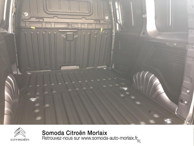 Photo 6 de l'offre de CITROEN Berlingo Van M 1000kg BlueHDi 100 S&S Worker à 19080€ chez Somoda - Citroën Morlaix