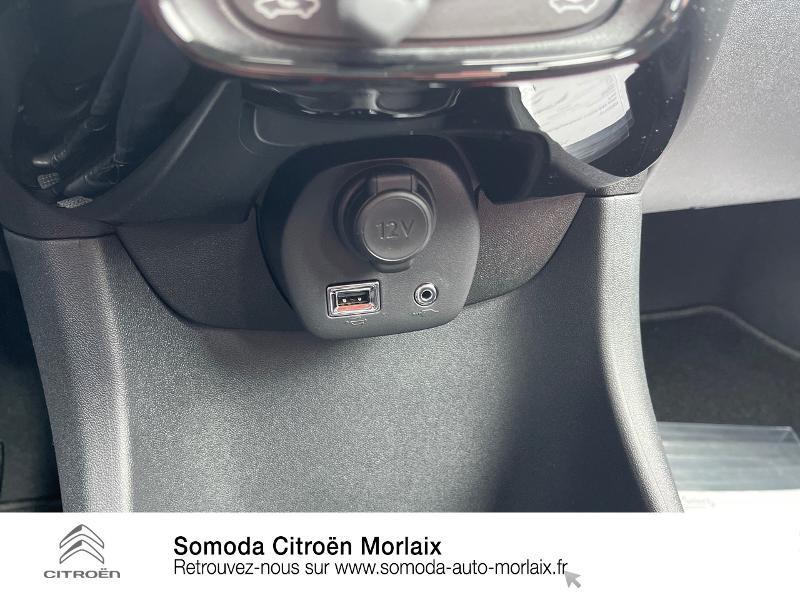 Photo 14 de l'offre de CITROEN C1 VTi 72 S&S Feel 5p E6.d-TEMP à 13400€ chez Somoda - Citroën Morlaix