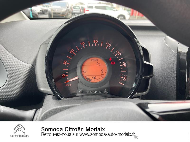 Photo 12 de l'offre de CITROEN C1 VTi 72 S&S Feel 5p E6.d-TEMP à 13400€ chez Somoda - Citroën Morlaix