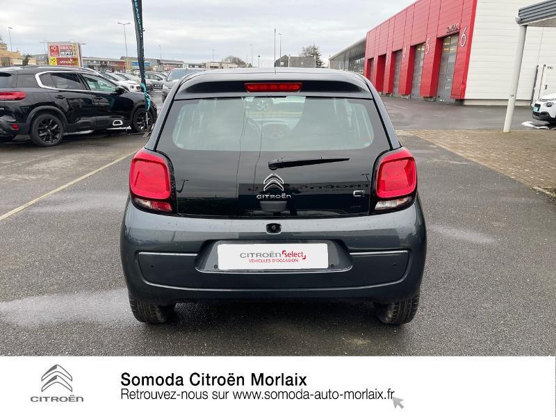 Photo 5 de l'offre de CITROEN C1 VTi 72 S&S Feel 5p E6.d-TEMP à 13400€ chez Somoda - Citroën Morlaix