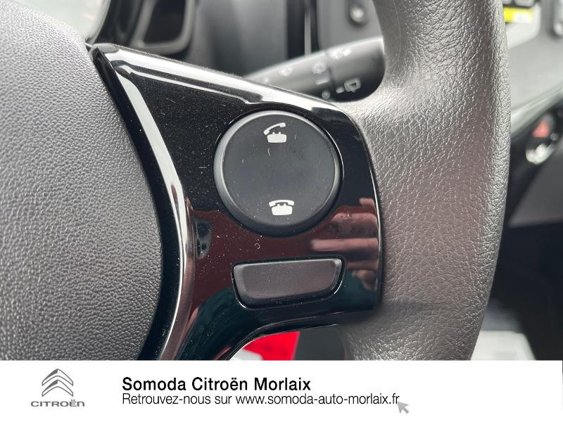 Photo 20 de l'offre de CITROEN C1 VTi 72 S&S Feel 5p E6.d-TEMP à 13400€ chez Somoda - Citroën Morlaix