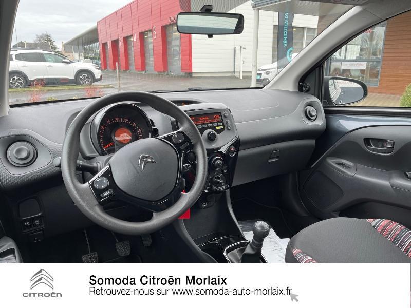 Photo 8 de l'offre de CITROEN C1 VTi 72 S&S Feel 5p E6.d-TEMP à 13400€ chez Somoda - Citroën Morlaix