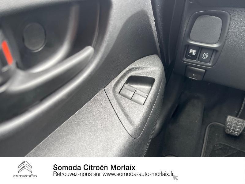 Photo 17 de l'offre de CITROEN C1 VTi 72 S&S Feel 5p E6.d-TEMP à 13400€ chez Somoda - Citroën Morlaix