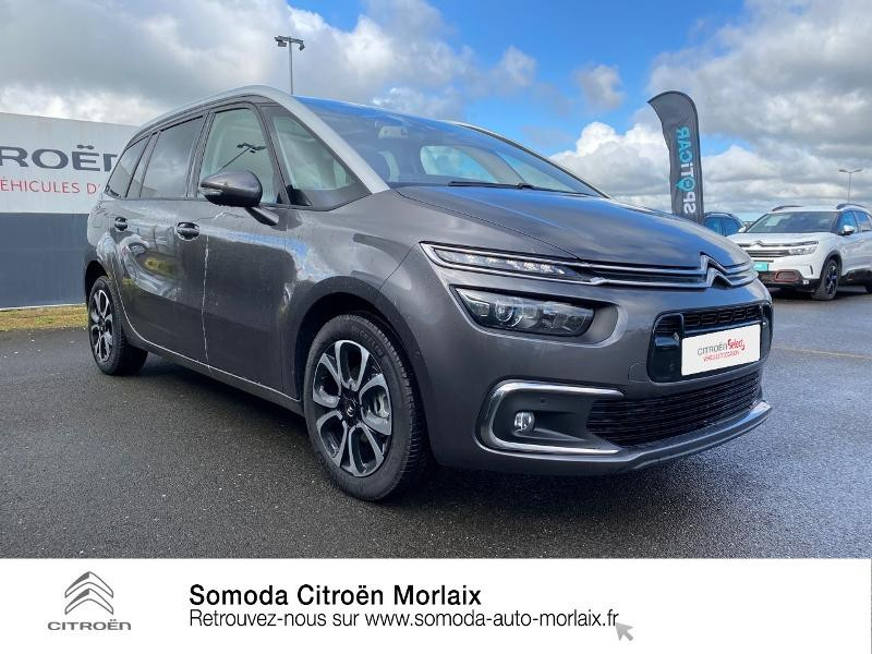Photo 3 de l'offre de CITROEN Grand C4 SpaceTourer PureTech 130ch S&S Shine Pack EAT8 7cv à 30900€ chez Somoda - Citroën Morlaix