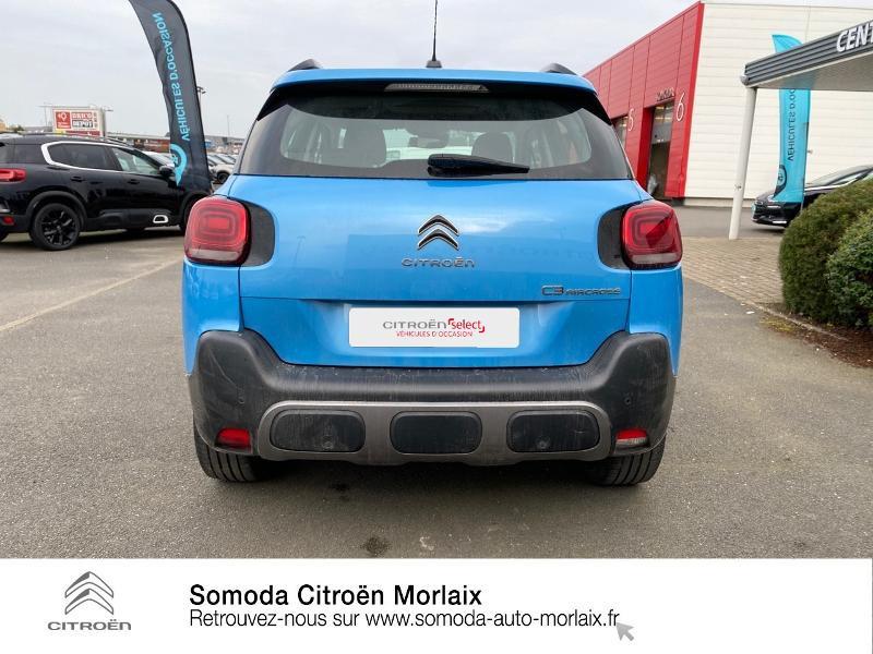 Photo 5 de l'offre de CITROEN C3 Aircross PureTech 110ch S&S Feel EAT6 E6.d-TEMP 114g à 16950€ chez Somoda - Citroën Morlaix