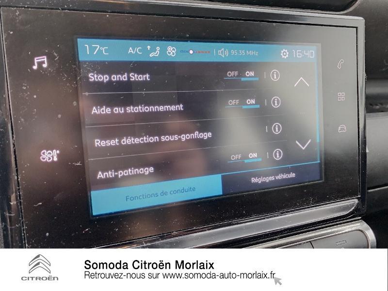 Photo 16 de l'offre de CITROEN C3 Aircross PureTech 110ch S&S Feel EAT6 E6.d-TEMP 114g à 16950€ chez Somoda - Citroën Morlaix