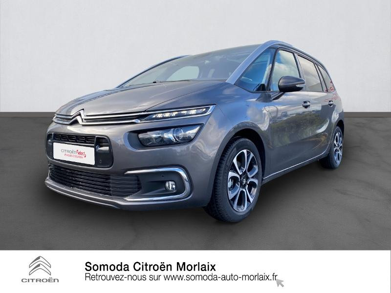 Photo 1 de l'offre de CITROEN Grand C4 SpaceTourer PureTech 130ch S&S Shine Pack EAT8 7cv à 30900€ chez Somoda - Citroën Morlaix