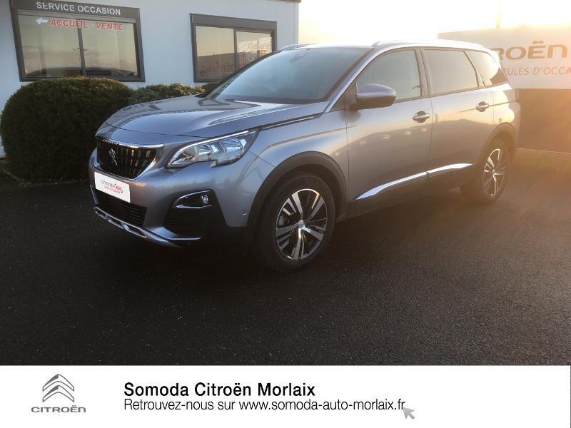 Photo 1 de l'offre de PEUGEOT 5008 1.5 BlueHDi 130ch S&S Allure EAT8 à 32900€ chez Somoda - Citroën Morlaix