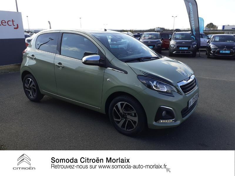 Photo 4 de l'offre de PEUGEOT 108 VTi 72 Collection S&S 4cv 5p à 13990€ chez Somoda - Citroën Morlaix