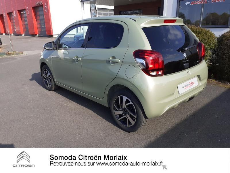 Photo 7 de l'offre de PEUGEOT 108 VTi 72 Collection S&S 4cv 5p à 13990€ chez Somoda - Citroën Morlaix