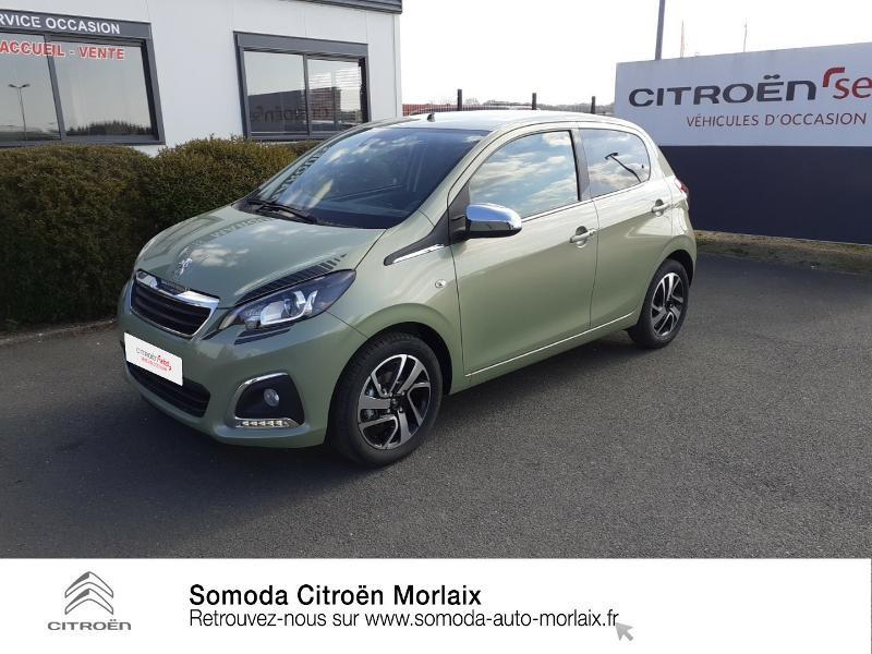 Photo 18 de l'offre de PEUGEOT 108 VTi 72 Collection S&S 4cv 5p à 13990€ chez Somoda - Citroën Morlaix