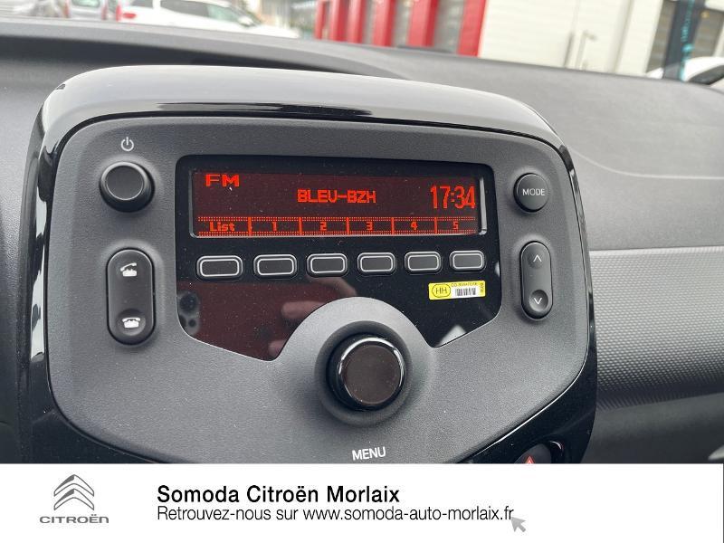 Photo 13 de l'offre de CITROEN C1 VTi 72 S&S Feel 5p E6.d-TEMP à 13400€ chez Somoda - Citroën Morlaix