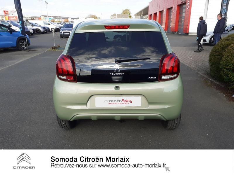 Photo 5 de l'offre de PEUGEOT 108 VTi 72 Collection S&S 4cv 5p à 13990€ chez Somoda - Citroën Morlaix
