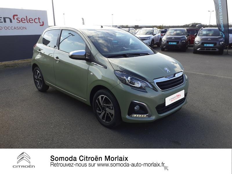 Photo 3 de l'offre de PEUGEOT 108 VTi 72 Collection S&S 4cv 5p à 13990€ chez Somoda - Citroën Morlaix