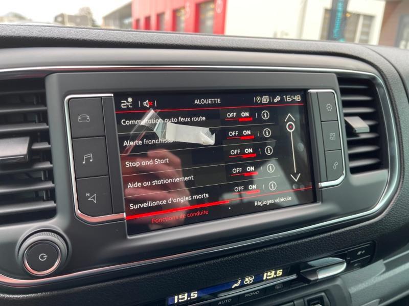 Photo 15 de l'offre de CITROEN Jumpy Fg M 2.0 BlueHDi 180ch S&S Cabine Approfondie Fixe Driver EAT8 à 34900€ chez Somoda - Citroën Morlaix