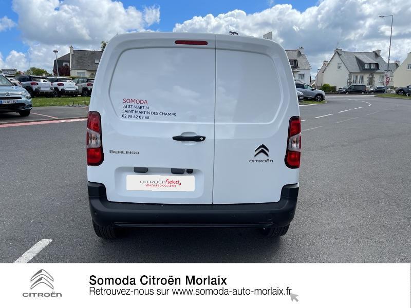 Photo 5 de l'offre de CITROEN Berlingo Van M 1000kg BlueHDi 100 S&S Worker à 19080€ chez Somoda - Citroën Morlaix